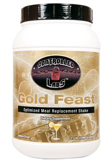 Controlled Labs Gold Feast - Optimized Meal Replacement Shake